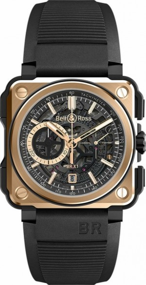 Montre masculine Bell & Ross Aviation Experimental Edition limitée BRX1-CE-PG