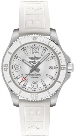 Breitling Superocean 36 White Watch A17316D21A1S1