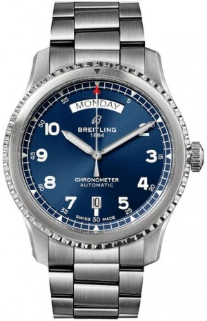 Breitling Aviator 8 Automatic Day & Date 41 A45330101C1A1