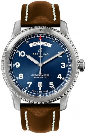 Montre Breitling Aviator 8 Steel pour hommes A4533010/CA10-495X