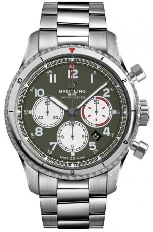 Montre Breitling Aviator 8 Curtiss Warhawk pour hommes AB01192A1L1A1