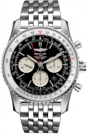 Montre Breitling Navitimer Rattrapante Chronograph pour hommes AB031021/BF77-453A