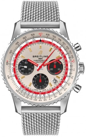 Montre Breitling Navitimer 43MM TWA pour hommes AB01219A1G1A1