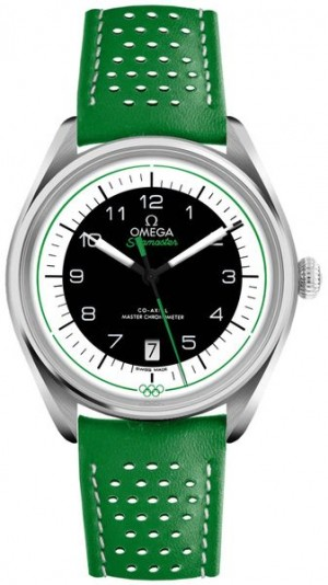 Montre Omega Seamaster Green édition olympique pour hommes 522.32.40.20.01.005
