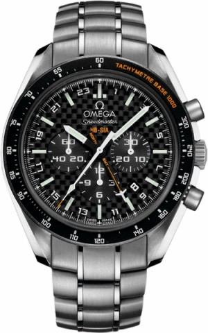 Omega Speedmaster HB-SIA Co-Axial GMT Chronographe Montre pour homme 321.90.44.52.01.001