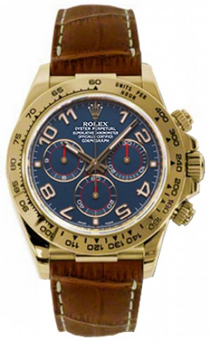 Rolex Cosmograph Daytona Blue Dial Men's Watch 116518