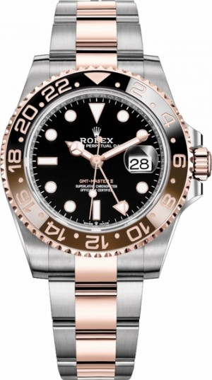 Montre Rolex GMT-Master II Root Beer pour homme 126711CHNR