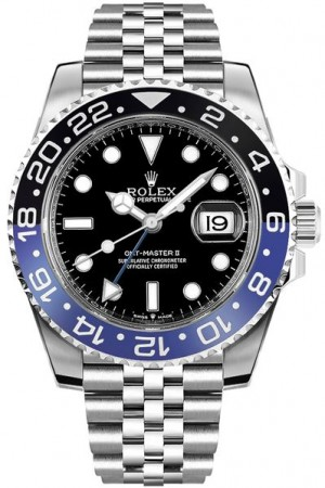 Rolex GMT-Master II Batman Jubilee Men's Watch 126710BLNR