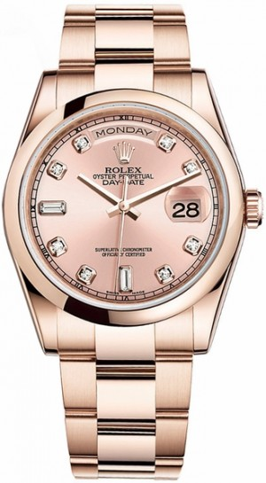 Montre Rolex Day-Date 36 en or 118205