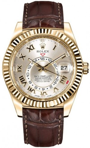 Montre Rolex Sky-Dweller en or 326138