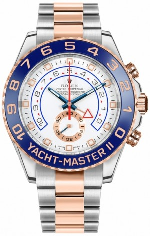 Montre Rolex Yacht-Master II Oystersteel & Everose Gold 44mm pour homme 116681