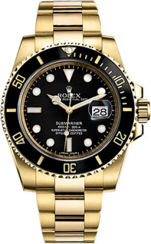 Rolex Submariner Date Automatic Watch 116618