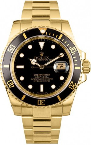 Rolex Submariner Date Automatic Watch 16618